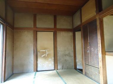 古い和室を